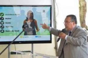 Andre Barbosa Apresentando Projeto Brasil 4D