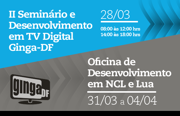Banner II Seminário TV Digital Ginga-DF