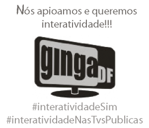 Logo Ginga-DF Apoio a Interatividade